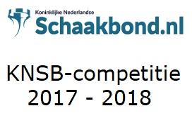 KNSB-competitie 2017-2018