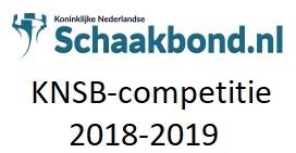 KNSB-competitie 2018-2019